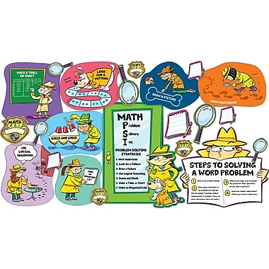 Scholastic Math PSI (Problem Solvers Inc.) Bulletin Board