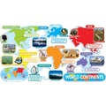 Scholastic Geography and Map Skills, World Continents Bulletin Board
