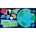 Scholastic Geography and Map Skills, Our Earth Puzzle Bulletin Board