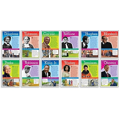 Scholastic Famous Americans, Notable African Americans Bulletin Board