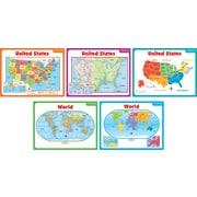 Scholastic Geography and Map Skills, Teaching Maps Bulletin Board
