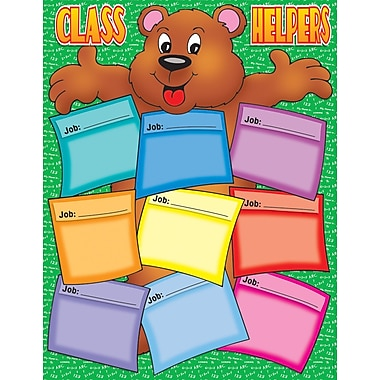 Scholastic Classroom Management, Bear Helper Chart
