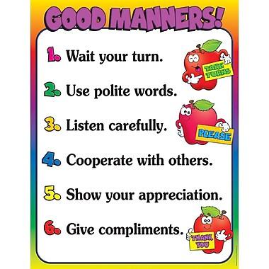 Scholastic Classroom Management, Good Manners Chart