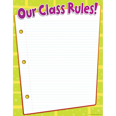 Scholastic Teacher Resources, Class Rules Chart