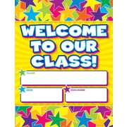 Scholastic Graphic Stars Welcome Chart
