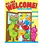 Scholastic Monsters Welcome Chart