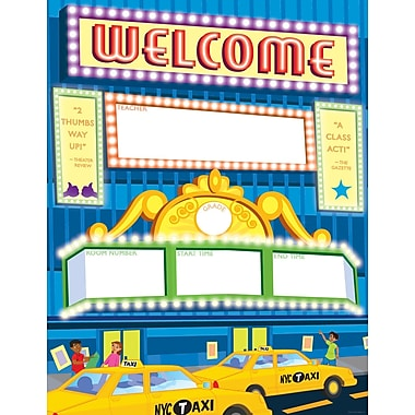 Scholastic Big City Welcome Chart