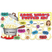 Scholastic Look Who's Popped In! Mini Bulletin Board