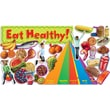 Scholastic Nutrition with Food Pyramid Mini Bulletin Board