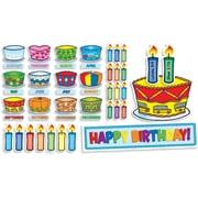 Scholastic Birthday Cakes Mini Bulletin Board