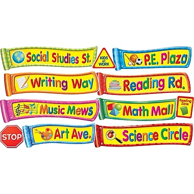 Scholastic All the Places We'll Go! Mini Bulletin Board