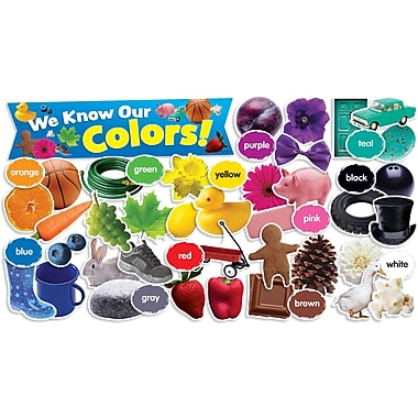 Scholastic Colors in Photos Mini Bulletin Board