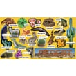 Scholastic Desert Plants & Animals Mini Bulletin Board