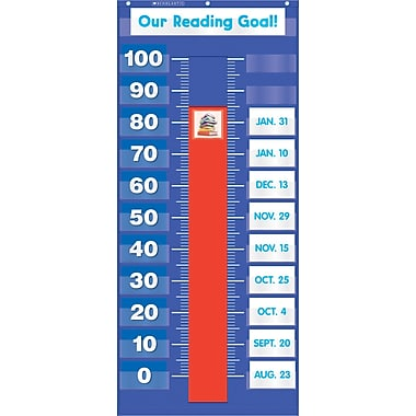 Scholastic Goal-Setting Pocket Chart