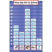Scholastic Five-Column Graph Pocket Chart