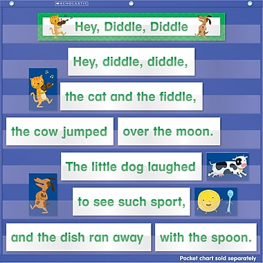 Scholastic Nursery Rhymes Pocket Chart Add-ons