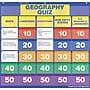 Scholastic Geography Class Quiz: Grades 2-4 Pocket Chart