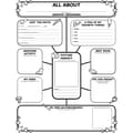 Scholastic Graphic Organizer Posters: All-About-Me Web (Grades 3-6)