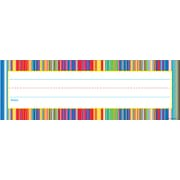 Scholastic Fiesta Stripes Name Plates
