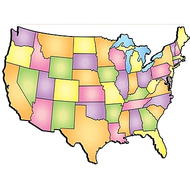 Scholastic Geography and Map Skills, USA! Note Pad