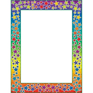 Scholastic Rainbow Stars Borders with Corners