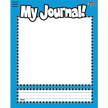 Scholastic My Journal Student Book 8.5in. x 7in., Blue/White (9780439504980)