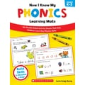 Scholastic Now I Know My Phonics Learning Mats