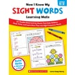 Scholastic Now I Know My Sight Words Learning Mats