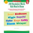 Scholastic 240 Vocabulary Words Kids Need to Know: Grade 2