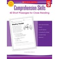 Scholastic Comprehension Skills: Short Passages for Close Reading: Grade 3