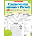 Scholastic Comprehension Homework Packets