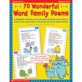 Scholastic Reading, 70 Wonderful Word Family Poems
