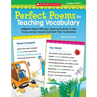 Scholastic Perfect Poems for Teaching Vocabulary