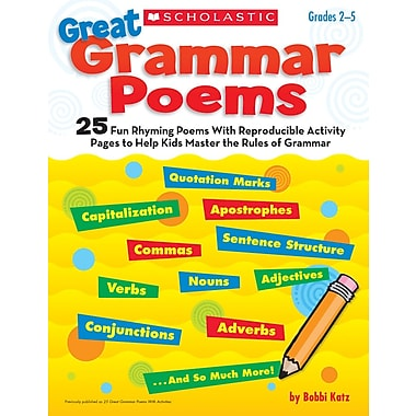 Scholastic Great Grammar Poems