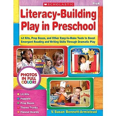 Scholastic Literacy-Building Play in Preschool