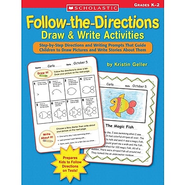 Scholastic Follow-the-Directions Draw & Write Activities