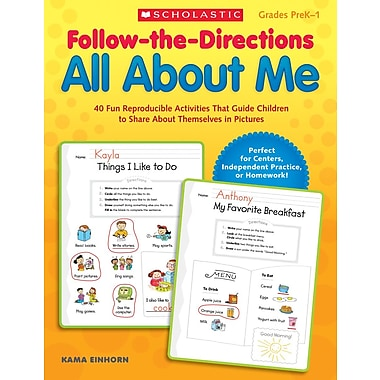 Scholastic Follow-the-Directions All About Me