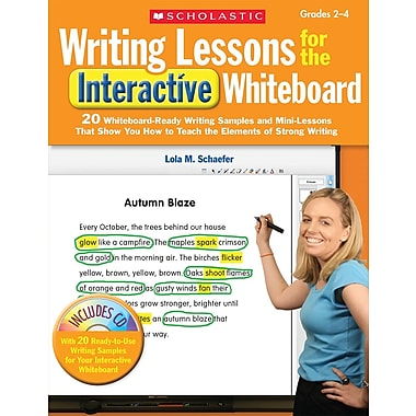 Scholastic Writing Lessons for the Interactive Whiteboard: Grades 2-4