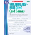 Scholastic Vocabulary-Building Card Games: Grade 3