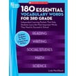Scholastic 180 Essential Vocabulary Words for 3rd Grade