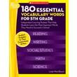 Scholastic 180 Essential Vocabulary Words for 5th Grade