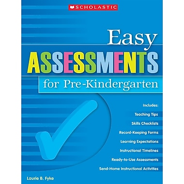 Scholastic Easy Assessments for Pre-Kindergarten