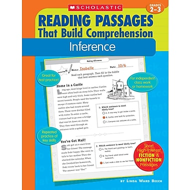 Scholastic Reading Passages That Build Comprehension: Inference