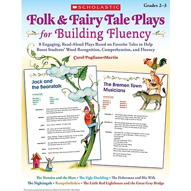 Scholastic Folk & Fairy Tale Plays for Building Fluency