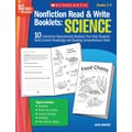Scholastic Nonfiction Read & Write Booklets: Science
