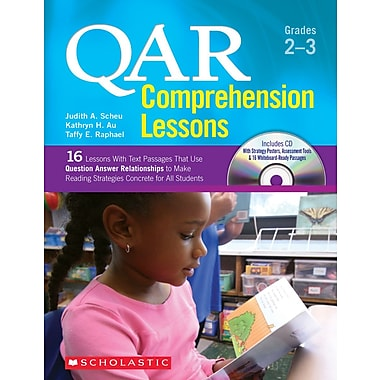 Scholastic QAR Comprehension Lessons: Grades 2–3