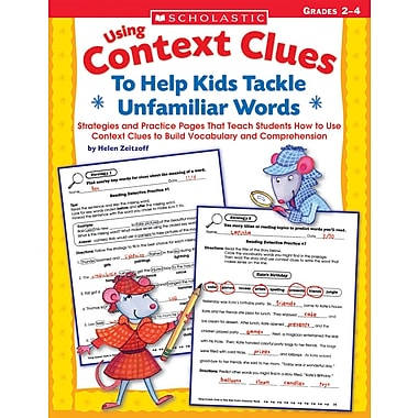 Scholastic Using Context Clues To Help Kids Tackle Unfamiliar Words