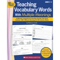Scholastic Teaching Vocabulary Words With Multiple Meanings