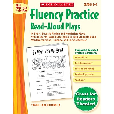 Scholastic Fluency Practice Read-Aloud Plays: Grades 3–4