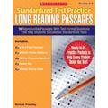 Scholastic Standardized Test Practice: Long Reading Passages: Grades 3-4